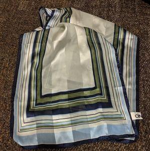 Vintage Cintas 100% silk scarf